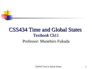 09-Time and Global States