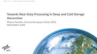 Towards Near-Data Processing in Deep and Cold...