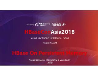 HBase on Persistent Memory