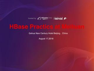 HBase Practice at Meituan