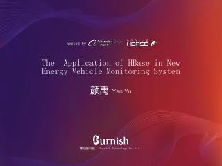 The Application of HBase in New Energy Vehicl...