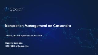 20_05 Transaction Management On Cassandra