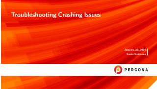 Troubleshooting Crashing Issues