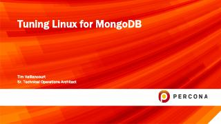 Tuning Linux for MongoDB