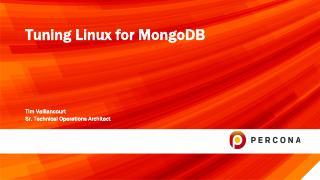 Tuning Linux for MongoDB