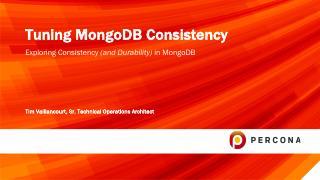 Tuning MongoDB Consistency