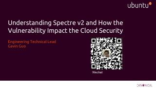 Understanding Spectre v2 and How the Vulnerab...