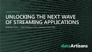 Unlocking the next wave of applications with ...