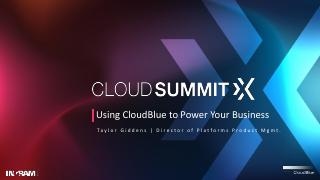Using CloudBlue to Power Your Business