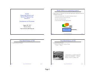 操作系统的发展历程