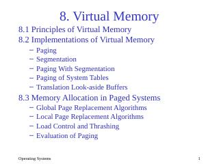 08-Virtual Memory