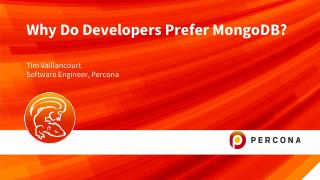 Why Do Developers Prefer MongoDB