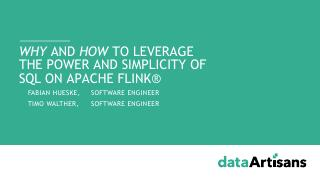 Why and how to leverage the simplicity and po...