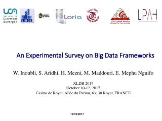 An Experimental Survey on Big Data Frameworks