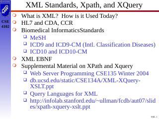 XML标准