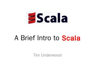 A Brief Intro to Scala - Frugal Mechanic