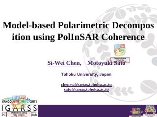 A Novel Method for Polarimetric SAR Image Spe...