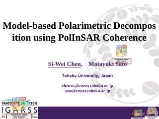 A Novel Method for Polarimetric SAR Image Spe...