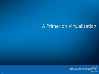 A Primer on Virtualiz...