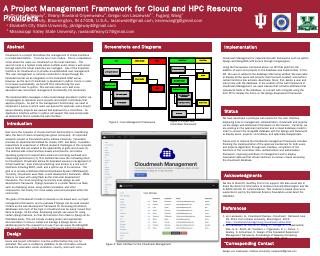 A Project Management Framework for Cloud and ...