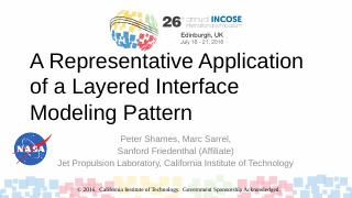 A Representative Application of a Layered Int...