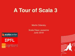 a tour of Scala 3