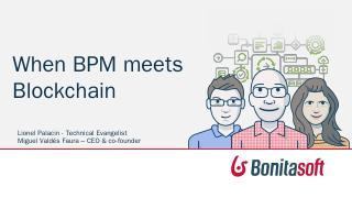 Accelerate blockchain adoption with BPM - bpm...