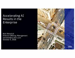 accelerating ai results in the enterprise