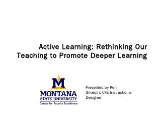 Active Learning - Montana State University