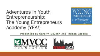 Adventures in Youth Entrepreneurship: The You...