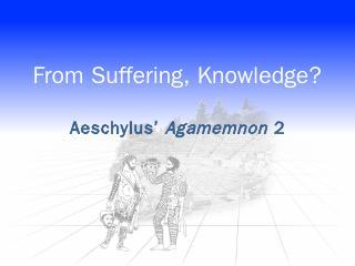 Aeschylus Agamemnon 2