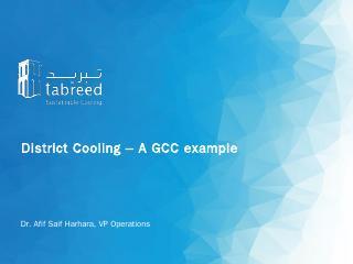 Afif Sair Nasser Harhara - District Cooling  ...