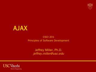 AJAX.pptx - USC