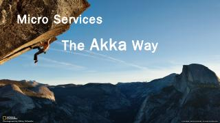 Akka cluster - Meetup