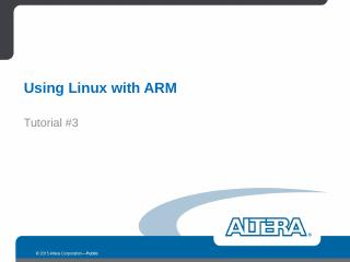 Altera PowerPoint Guidelines - FTP Directory ...