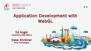 an interactive introduction to webgl and thre...