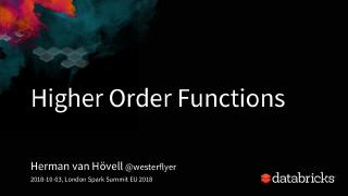 an introduction to higher order functions in ...