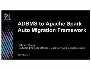 analytical dbms to apache spark auto migratio...