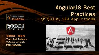 AngularJS Best Practices - SoftUni