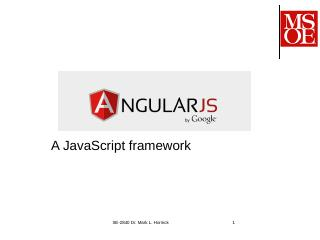 AngularJS - To MSOE home page