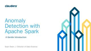 Anomaly Detection with Apache Spark - Meetup