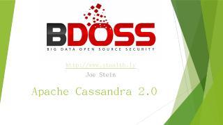Apache Cassandra 2.0 - Meetup