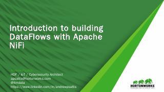 Apache NiFi - Meetup