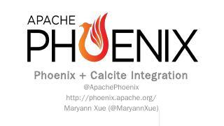 Apache Phoenix - Meetup
