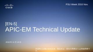 APIC-EM - Cisco