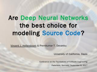 Are Deep Neural Networks the best choice for ...