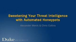 Automating honeypot deployment with Docker an...