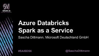 azure databricksu2014apache spark as a service