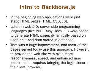 Backbone.js - Magnifier 3D