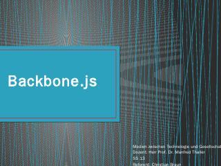 BackboneJS.pptx